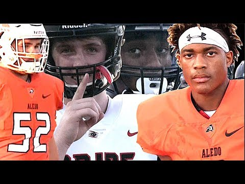 🔥🔥 Texas Football - Aledo High vs Colleyville Heritage - | UTR Highlight Mix 2017
