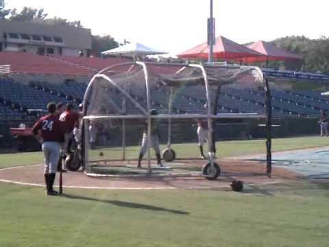 Josh Harrison Batting Practice