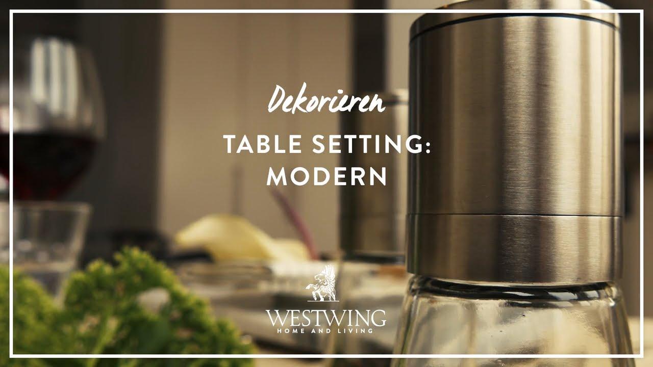 Moderne tischdeko leicht gemacht westwing style tipps for Moderne tischdeko
