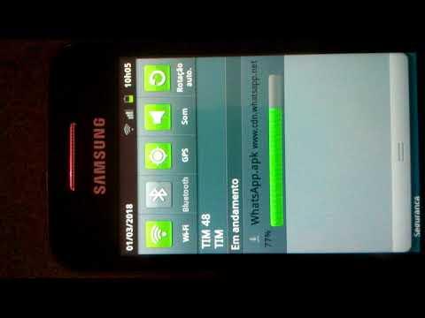 Como Baixar Whatsapp Samsung Android