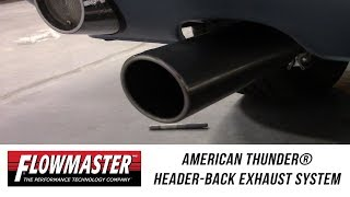 In the Garage™ with Performance Corner®: Flowmaster American Thunder Header-Back Exhaust