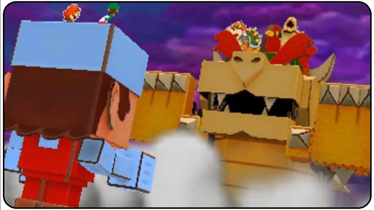 Papercraft Mario & Luigi Paper Jam Papercraft Battle Ring