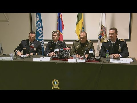Quebec provincial police news conference on deadly mosque shooting