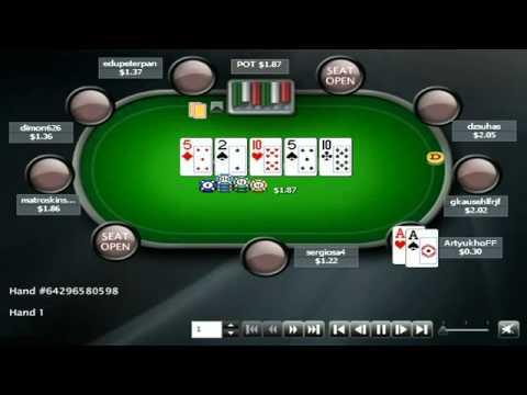 Раздача дня в школе покера PokerStarter: Ситуация на ривере