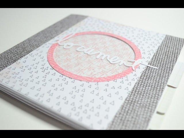 Scrapbook Mini Album,Modern[Basteln mit Papier]Deutsch