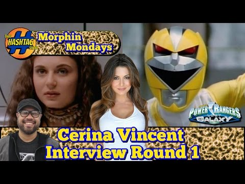 Cerina Vincent Interview (Round 1) | Power Rangers Lost Galaxy | Morphin' Monday