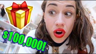 MY $100,000 VALENTINE PRESENT!