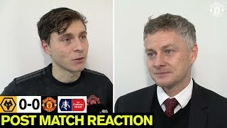 Solskjaer & Lindelof react to Wolves draw | Wolverhampton Wanderers 0-0 Manchester United