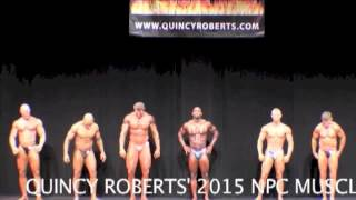 QUINCY ROBERTS PRESENTS 2015 NPC MUSCLE HEAT MEN