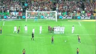 ᴴᴰ fc barcelona real madrid cf el clasico amazing messi freekick goal 2012 10 07