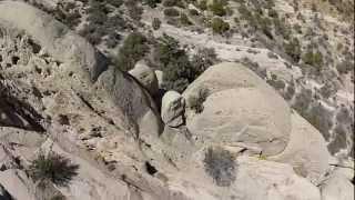 Devils PunchBowl, Littlerock, Ca - Aerial View
