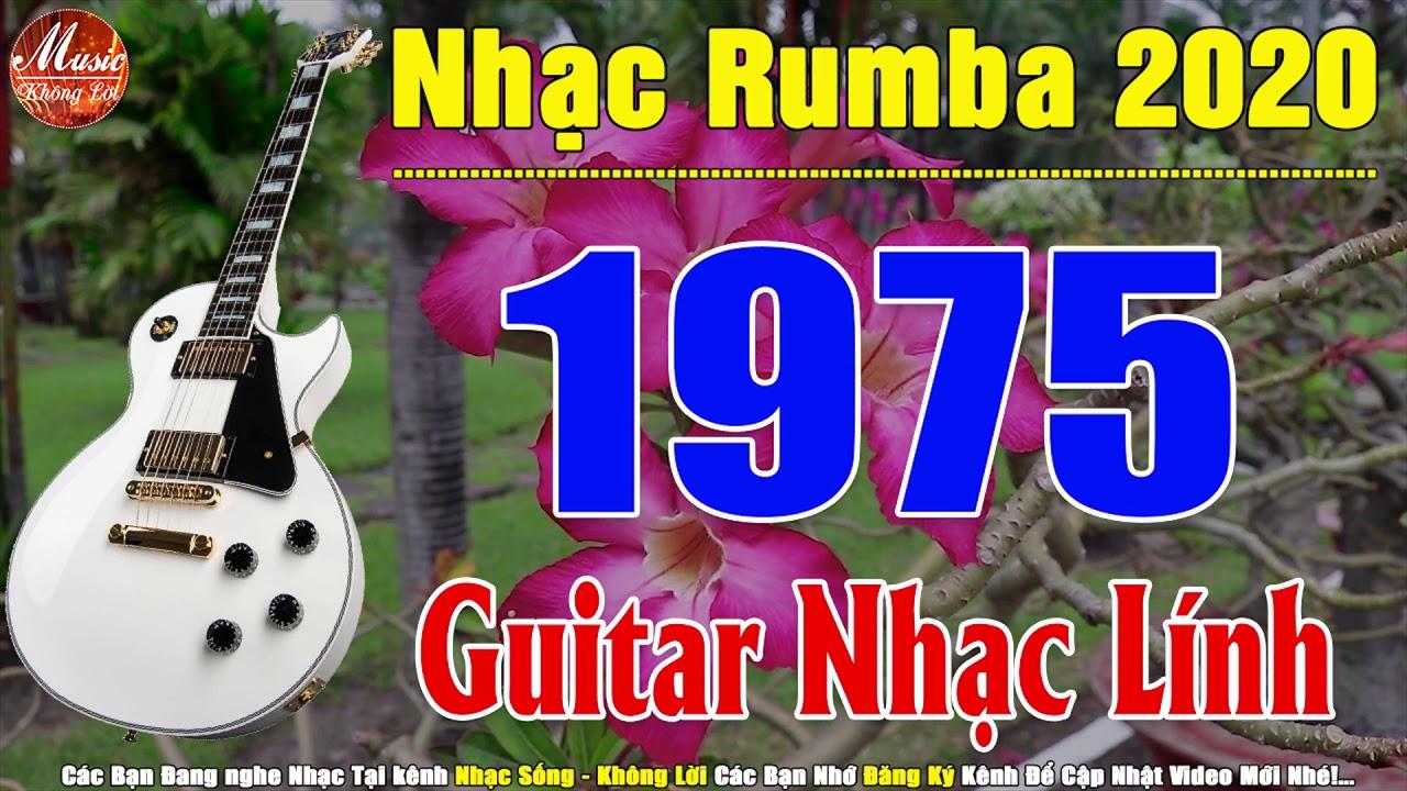 Guitar Nhạc Lính 1975 Không Lời | Nhạc Rumba Hải Ngoại Hòa Tấu Nhạc Tiền Chiến Hay Nhất