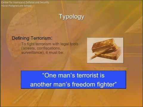Introduction to Terrorism: Typology, Targets, and Organizations