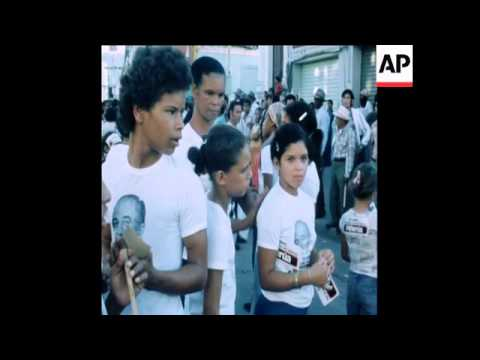 SYND 19 11 78 ELECTION SCENES IN CARACAS