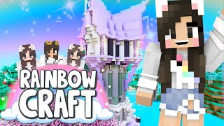 💙Building a Tangled Tower! Rainbowcraft Ep.20