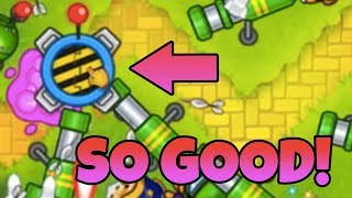 Bloons TD 6 - SUPER MINES - 5TH TIER SPIKE FACTORY