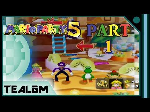 Mario Party 5 - Sweet Dream Board  - Part 1