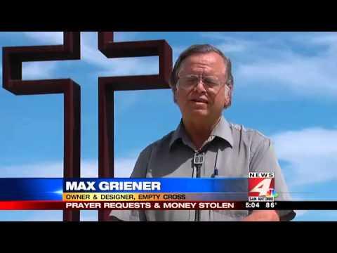 Stolen Prayers: Kerrville cross target of crim