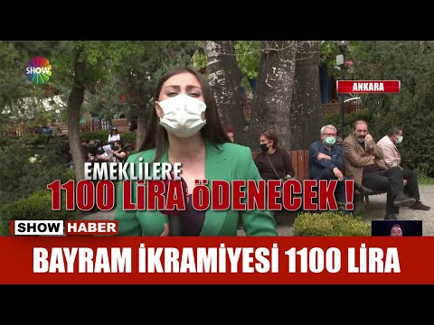Bayram ikramiyesi 1100 lira