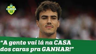 """""""A gente vai lá na CASA dos caras pra GANHAR!"""", dispara Igor Gomes após São Paulo x Corinthians!"""