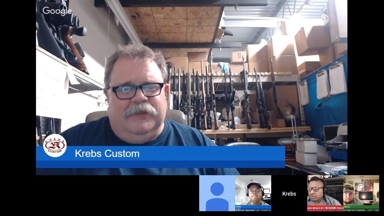 Podcast #103 - Krebs Custom Raffle Winners and Other News Hank Strange Who Moved My Freedom