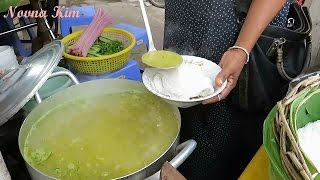 Khmer Noodle Street Food In Asia - Cambodian Traditional Food