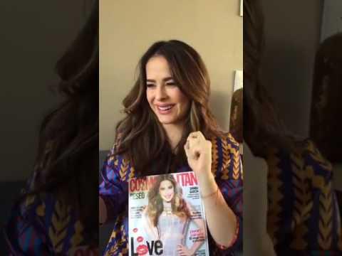 Danna García en facebook live de Cosmopolitan Mexico - YouTube