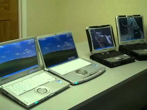 Test Du Panasonic Toughbook Cf F9 Doovi