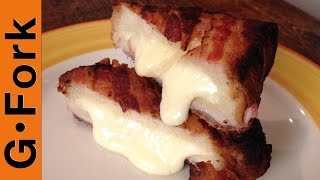 Bacon Wrapped Grilled Cheese Recipe - Gardenfork.tv