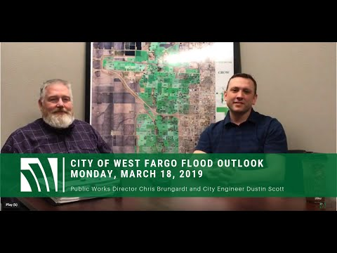 March 18, 2019, City of West Fargo Flood Outlook