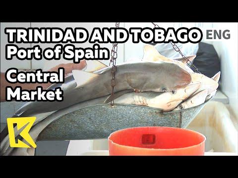 【K】Trinidad&Tobago Travel-Port of Spain[트리니다드 토바고 여행-포트오브스페인]재래시장/Central Market/Shark/Vegetable