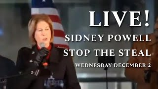 LIVE! Sidney Powell 'Stop the Steal' rally in Georgia, WEDNESDAY DECEMBER 2