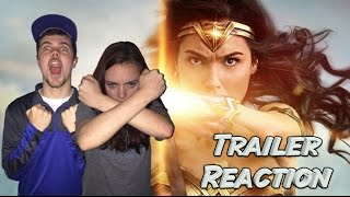 WONDER WOMAN Rise of the Warrior Official Final Trailer Reaction
