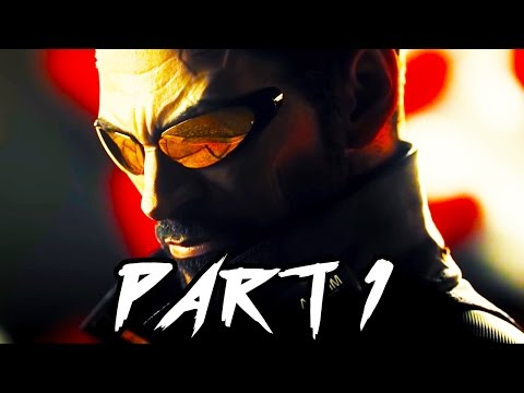 Deus Ex Mankind Divided Gameplay Walkthrough Part 1 - Intro