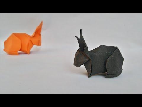 Christmas Origami Rabbit