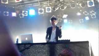 "Madeon ""The City/Dirty Talk/Prime Time Of Your Life"" Live Roxy Theatre Hollywood 4/17/12 1080 HD"