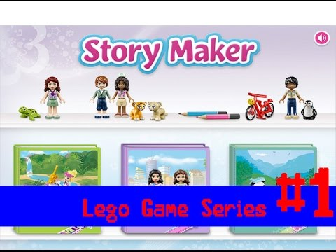 Lego Friends Story Maker Free Game Trailer Gameplay Review For