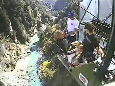 Pip S Chair Bungy Canyon Swing Queenstown Nz Youtube