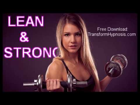 Lean and Strong - Fitness Hypnosis for Women |ASMR | Fat Burn | Muscle Tone | No workout needed