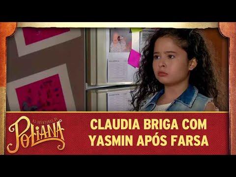 Claudia descobre nova mentira de Yasmin | As Aventuras de Poliana