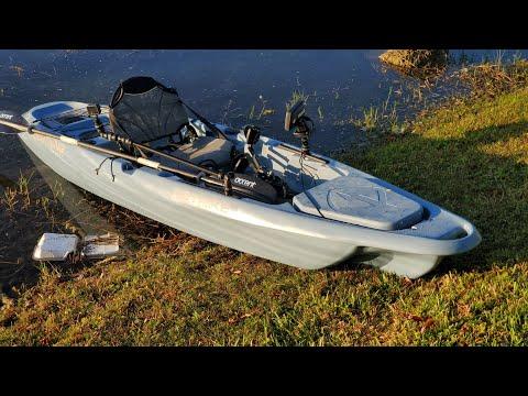 Lighting Strike Pedal Kayak WATER DEMO REVIEW