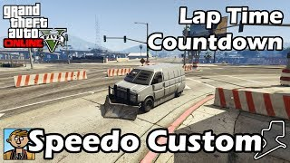 Fastest Vans (Speedo Custom) - GTA 5 Best Fully Upgraded Cars Lap Time Countdown