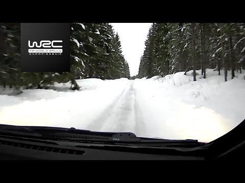 WRC - Rally Sweden 2018: Shakedown Onboard Tänak