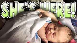BABY IS HERE - Baby Delivery Vlog