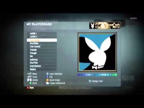 Black Ops PlayBoy Emblem :)
