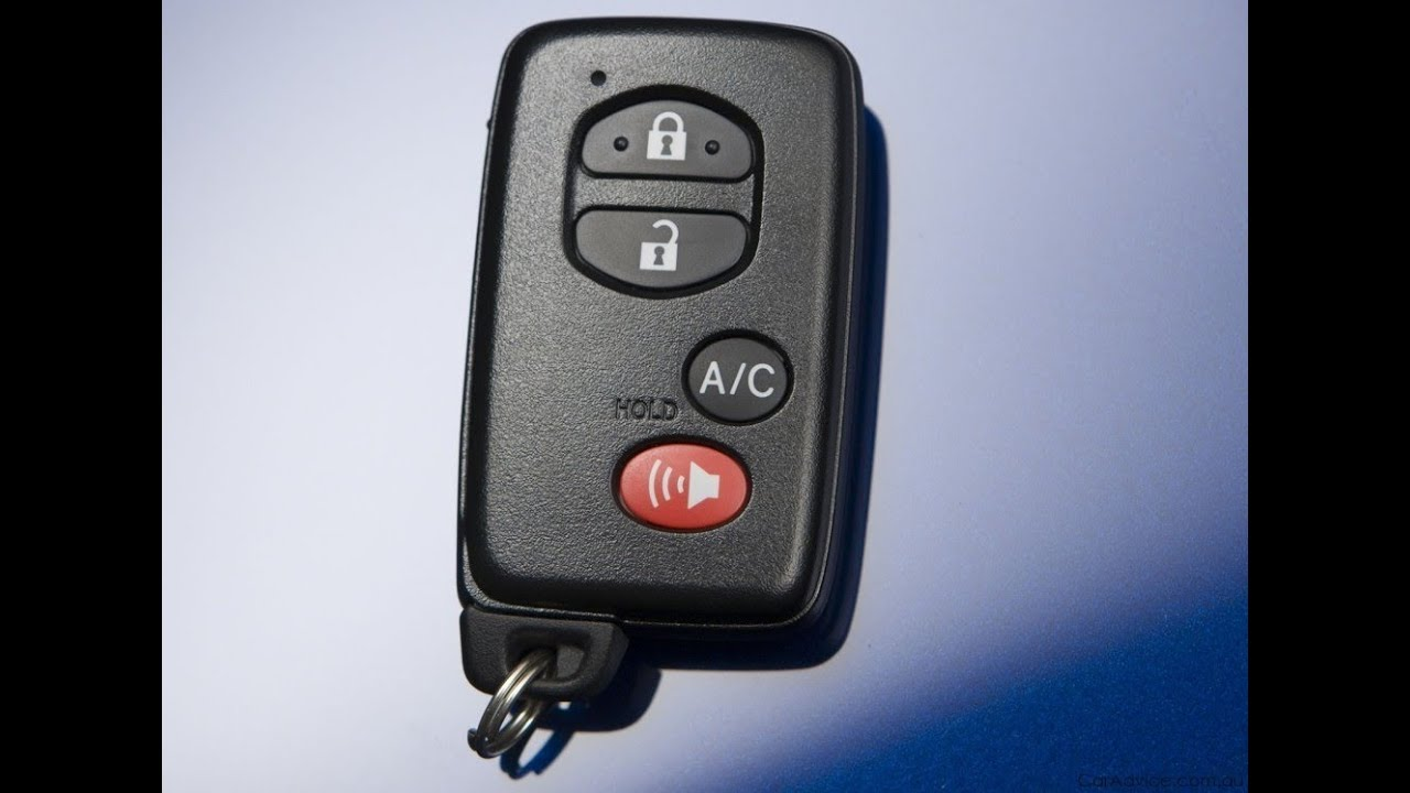 Accessing The Battery On A Toyota Prius 2010 2012 Fob Keyless