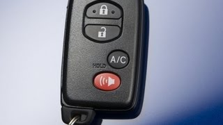 Accessing the Battery on a Toyota Prius 2010-2012 Fob Keyless Entry