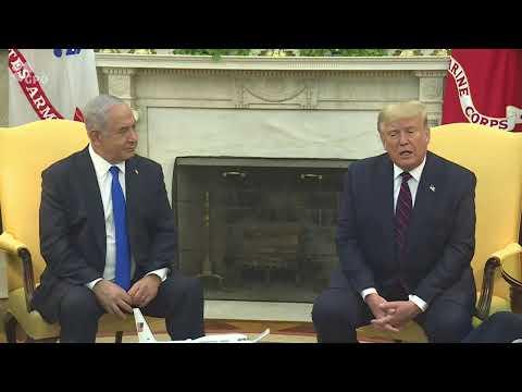 LIVE! PM Netanyahu Meets US President Trump