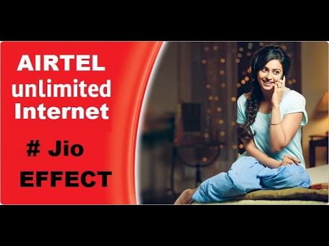 Airtel Free Internet Life Time Offer 2017 #Jio Effect