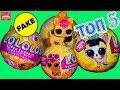 Топ 5 ФЭЙКОВ 🌟Кукол Лол Петс сюрприз LOLOLOL Pets Питомцы Золотой шар с Алиэкспресс
